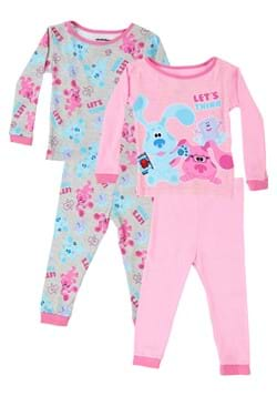 4 Pc Toddler Girls Blues Clues Sleep Set