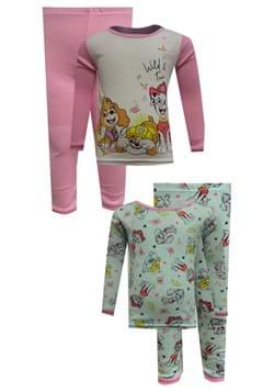 4 Pc Toddler Girls Paw Patrol Sleep Set