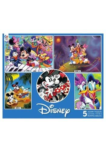 5 in 1 300 500 750 Piece Disney Multi Pack Classics