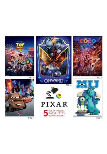Disney Pixar Multi Pack 5 in 1 Puzzle Set