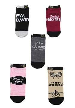 Schitts Creek 5 Pack Ankle Socks