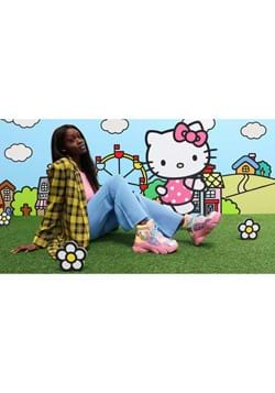 Irregular Choice Hello Kitty You Brighten My Day Sneaker