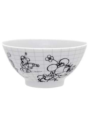 Disney Sketchbook Minnie Soup Cereal Bowl