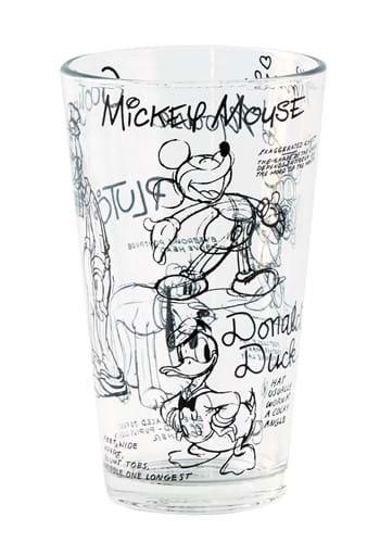 Disney Sketchbook Mickey Mouse 4 Pack Tumbler Set