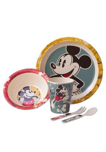 Disney Dancing Mickey 5PC Bamboo Set
