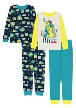 4 Pc Boys Minions Lazy Days Sleep Set
