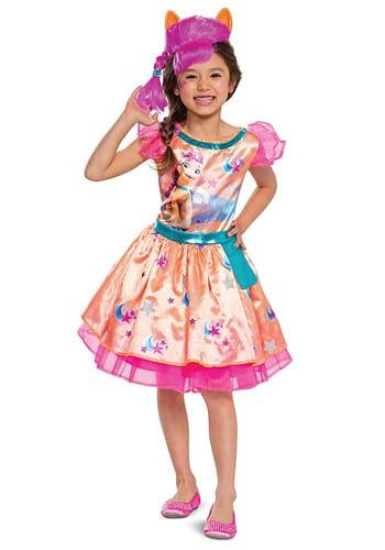 MLP Movie Toddler Kid Sunny Starscout Costume