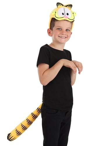 Garfield Plush Headband Tail Kit