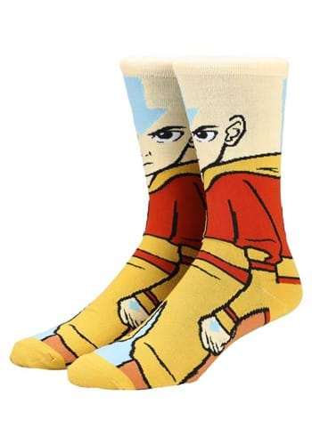 Avatar the Last Airbender Aang 360 Character Socks