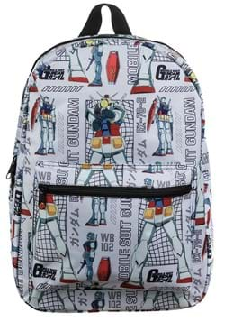 Mobile Suit Gundam Sublimated Backpack UPD