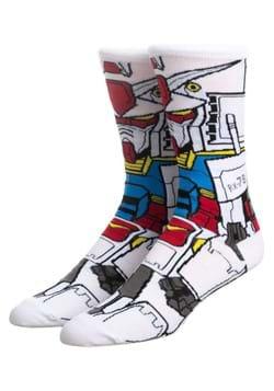 Gundam RX 78 360 Character Crew Sock