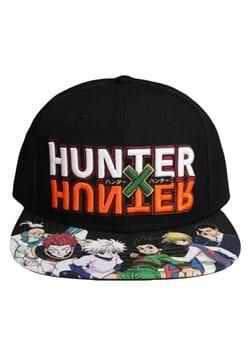 Hunter x Hunter Logo Flat Bill Snapbacks