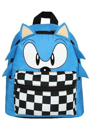 Sonic Decorative 3D Mini Backpack