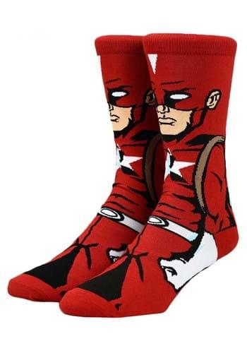 Marvel Black Widow Red Guardian 360 Character Socks upd