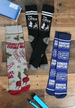 The Office 3 Pack of Crew Socks