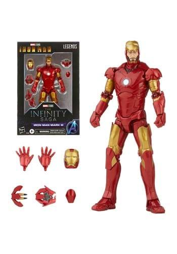 Iron Man Marvel Legends Mark 3 Armor 6-inch Action