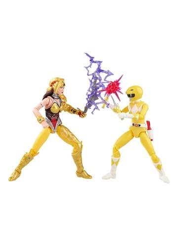 PR Lightning Collection Yellow Ranger vs. Scorpina