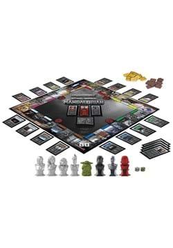 Star Wars Mandalorian Monopoly Collector Edition w Figure