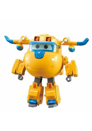 Super Wings Deluxe Transforming Donnie Figure