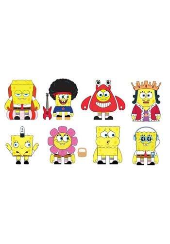 Cavalcade of SpongeBobs Vinyl Mini Figure Pack