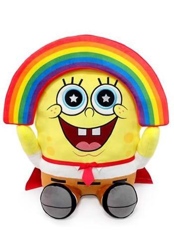 Nickelodeon SpongeBob 16 Inch HugMe Plush Rainbow