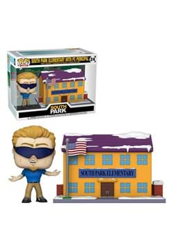 Funko POP TOWN South Park Elementary with PC Principal