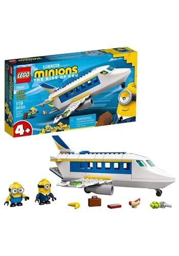 LEGO Minion Pilot in Training