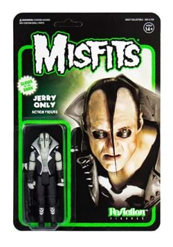 Misfits ReAction Figure Jerry Only Glow in the Dark UPD