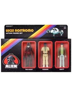 3 Pack Aliens Reaction Figures Parker Brett and The Alien