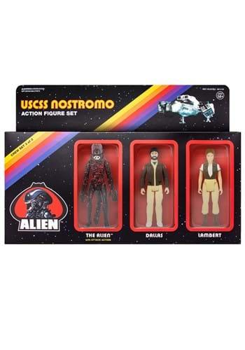3 Pack Aliens Reaction Figures Lambert Dallas and The Alien