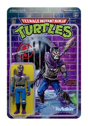 Teenage Mutant Ninja Turtles Damaged Foot Solider Figure