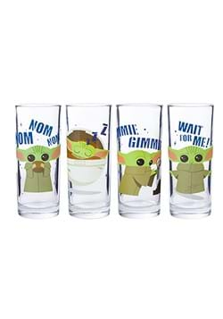 Star Wars The Mandalorian Baby Yoda 4pc Glass Set UPD