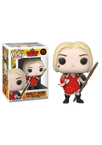 Funko POP Movies The Suicide Squad Harley Damaged Dress-1