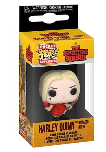 POP Keychain The Suicide Squad Harley Damaged Dress