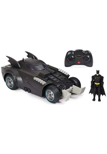 Batman Launch and Defend Batmobile RC with 4 Inch Figure