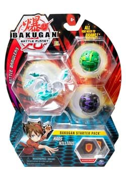 Bakugan Starter 3 Pack Styles May Vary