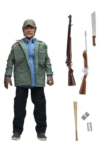 Jaws 8 Scale Sam Quint Clothed Action Figure