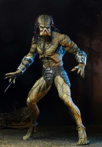 Predator 2018 Assassin Predator Unarmored 7 Scale Figure