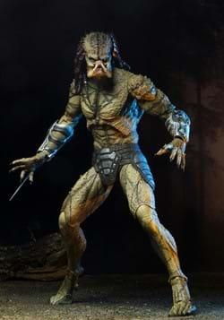 "Predator 2018 Assassin Predator Unarmored 7"" Scale Figure up"