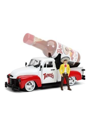 1 24 Scale 53 Chevy Pickup w Tapatio Charro Man Figure
