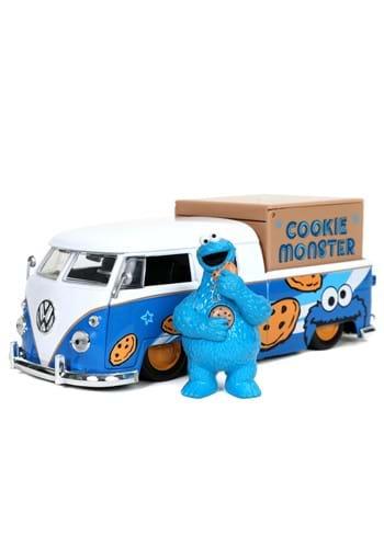 1 24 Scale 1963 Volkswagen Bus Pickup w Cookie Monster