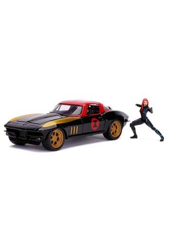 Marvel 1 24 Scale 66 Chevy Corvette Black Widow
