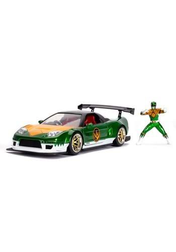 Power Rangers 1 24 Scale 02 Honda NSX Green Ranger Figure
