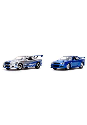 1 32 Scale Fast Furious Brians Nissan Skyline GT R 2 Pack