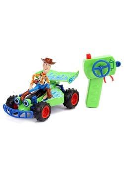 Toy Story RC Turbo Buggy w Attached Woody Figure