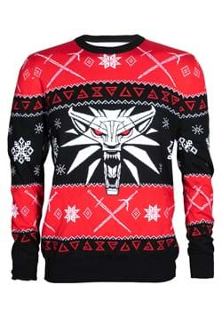 The Witcher 3 Dreaming Of A White Wolf Ugly Holiday Sweater