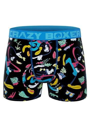 Crazy Boxers Mens Boxer Briefs Disney Goofy