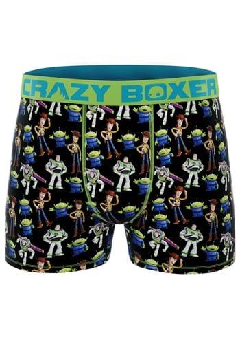 Crazy Boxers Mens Boxer Briefs Disney Toy Story