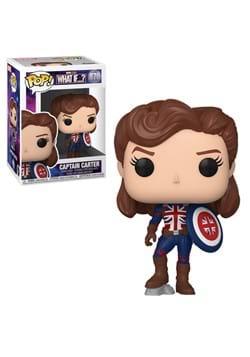 POP Marvel What If Captain Carter