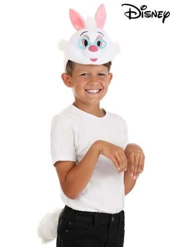 Disney White Rabbit Plush Headband Tail Kit